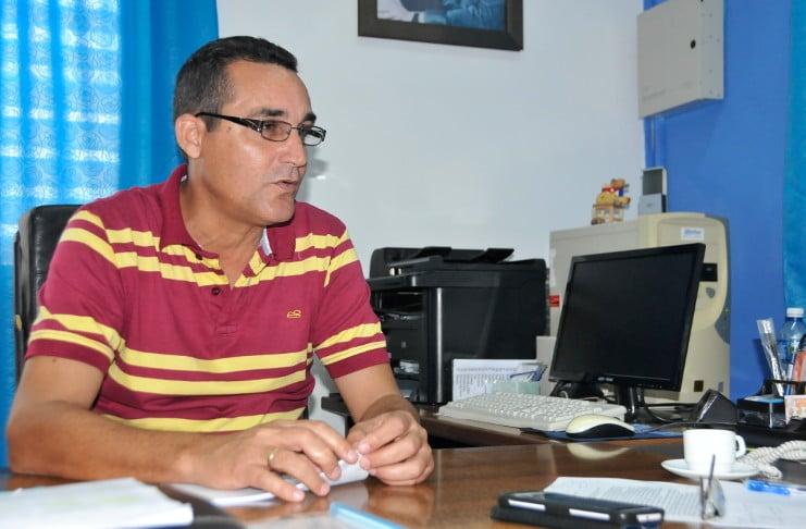 José Enrique González Garrido, delegado del Ministerio de Turismo.