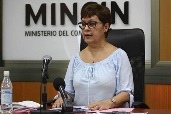 nancy valdes viceministra de comercio interior