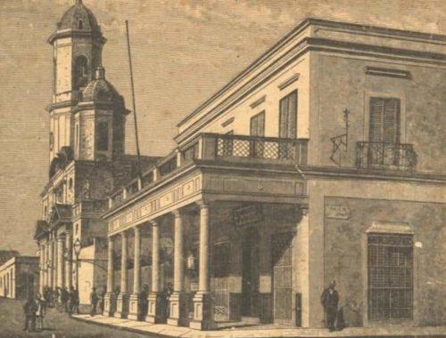 La casa del fundador de Cienfuegos Don Luis De Clouet