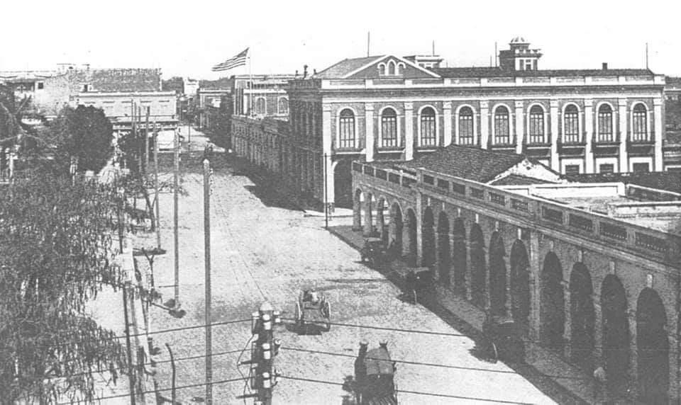 parque Martí en Cienfuegos