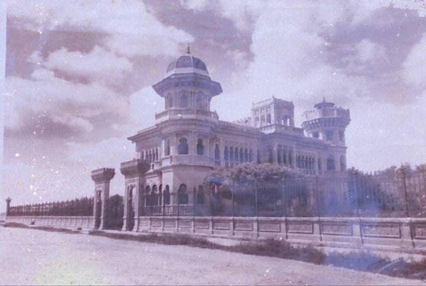 el palacio de Valle