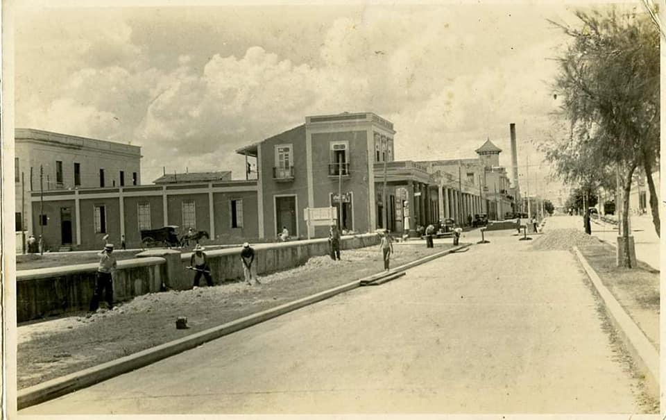 malecón de la ciudad de Cienfuegos