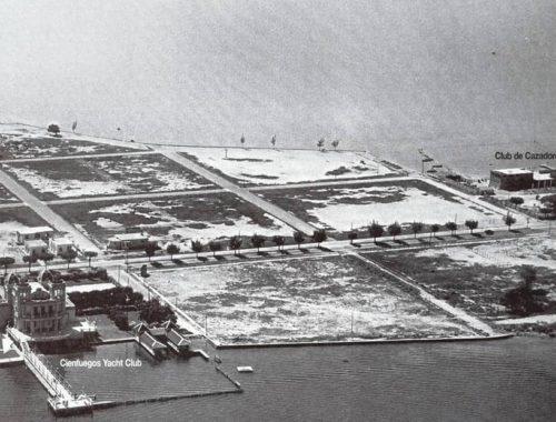 Vista aérea de Punta Gorda