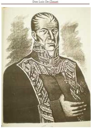 Don Louis Lorenzo de Clouet y Favrot